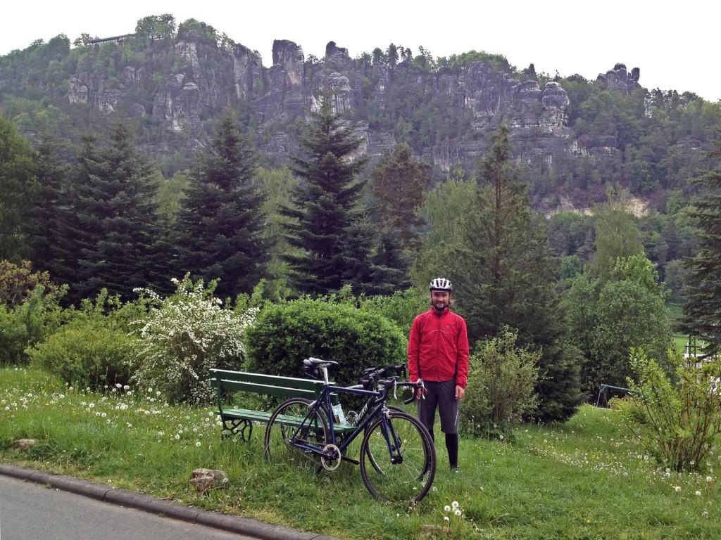 Vor der Bastei in Rathen